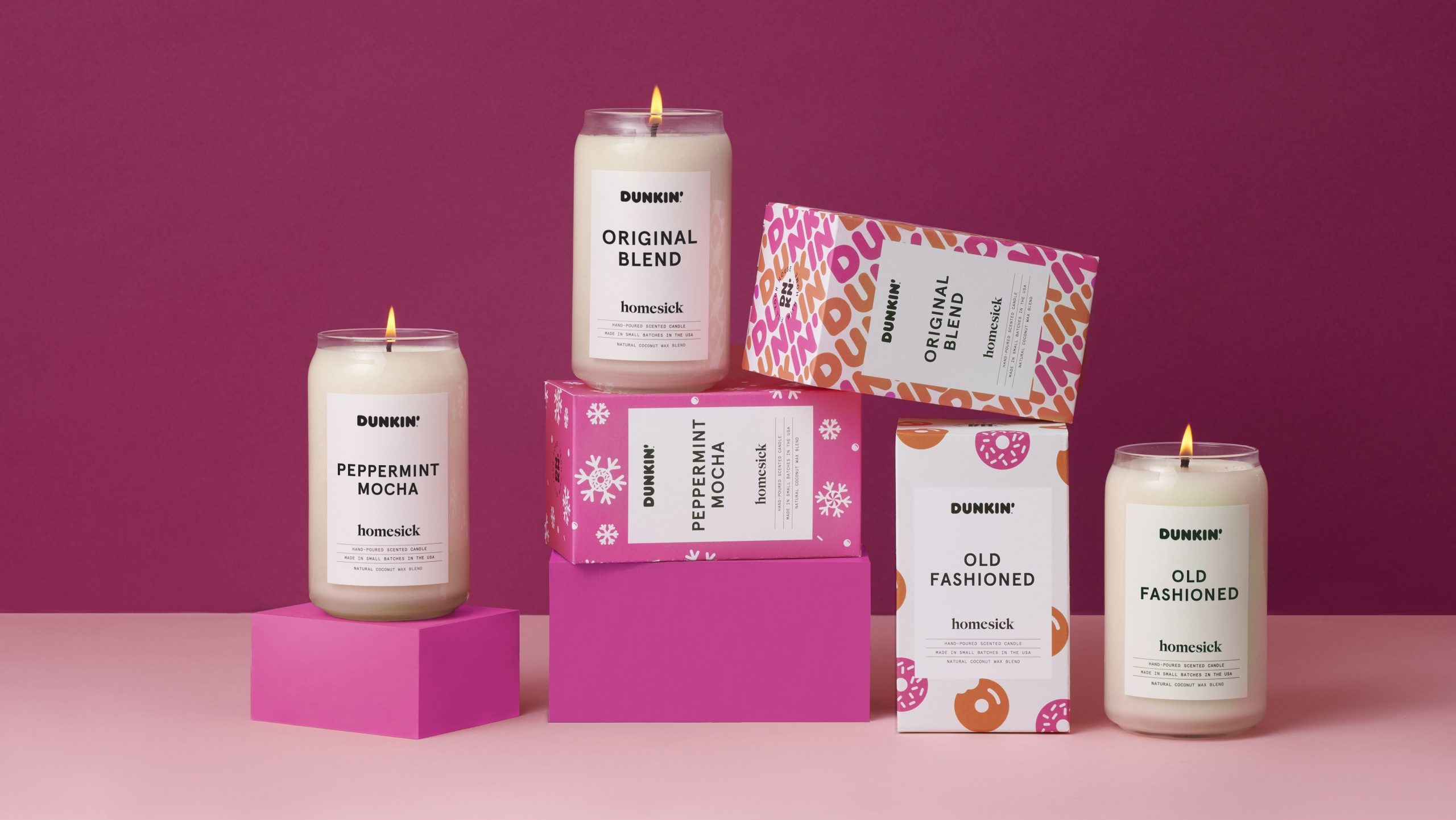 Now at Dunkin: Scented candles | FOX 61