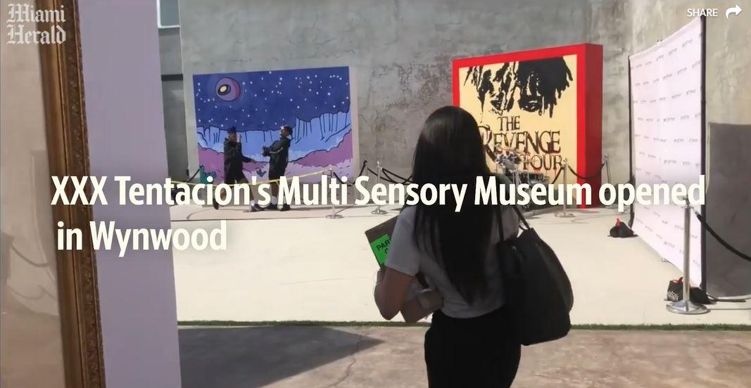 XXXTentacion's multi-sensory museum opens in Wynwood | Miami Herald