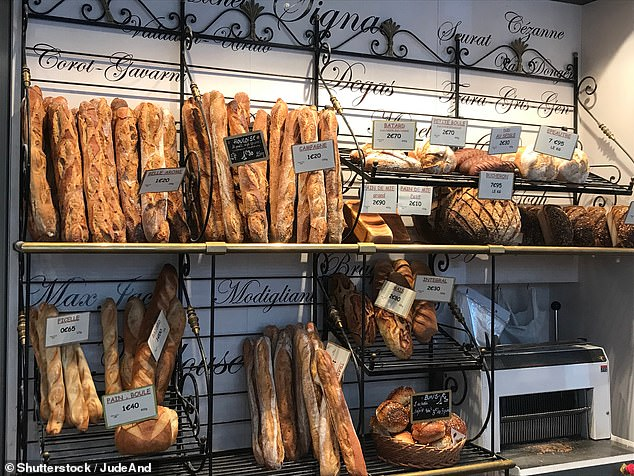The smell of fresh bread in Paris is a delight for the nostrils