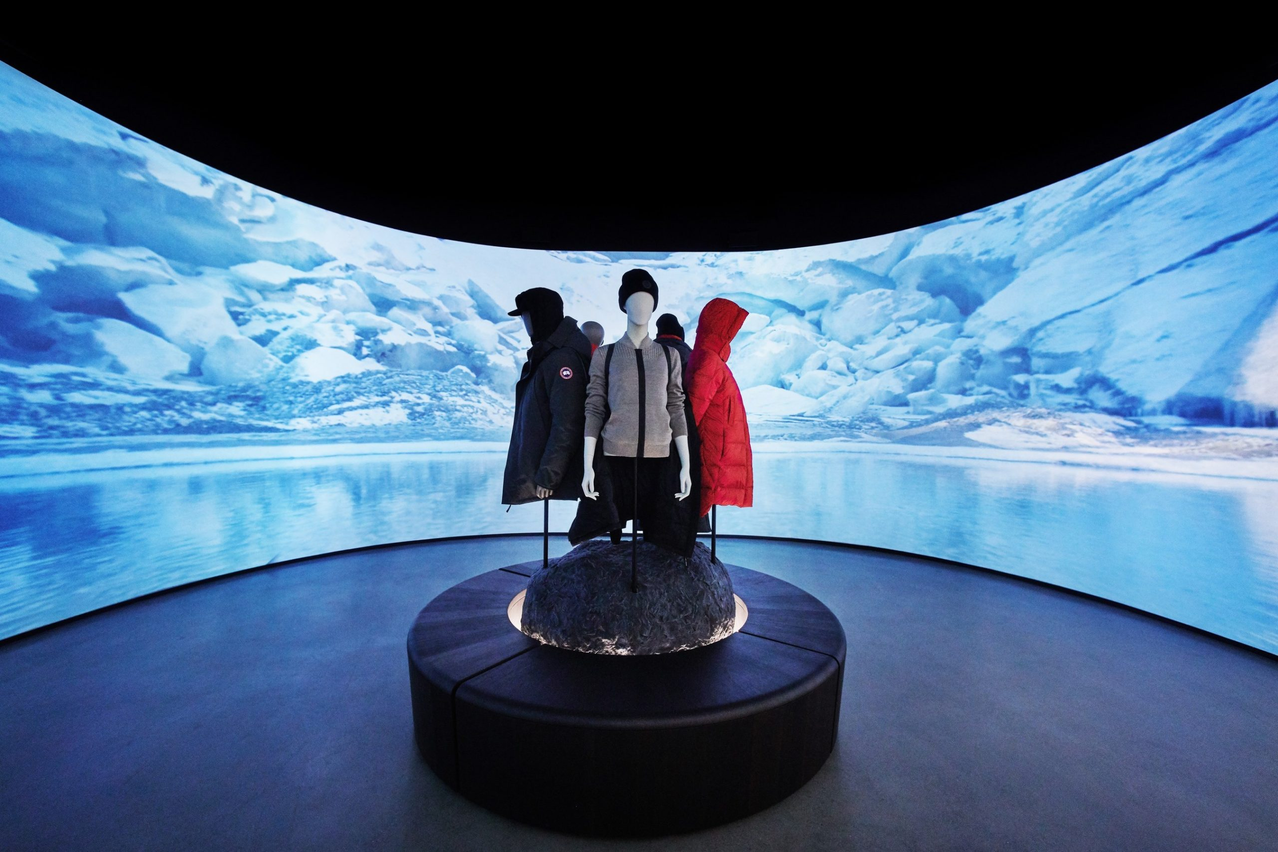 Canada Goose Unveils the Sights of Nature, Sounds of the Arctic and Touch of Real Snow with New Concept Store | PR Newswire