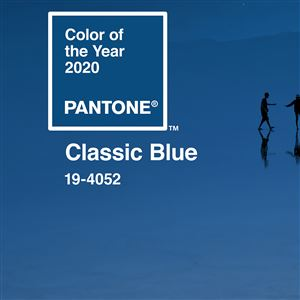 The Pantone Color Institute has declared Classic Blue its color for 2020.