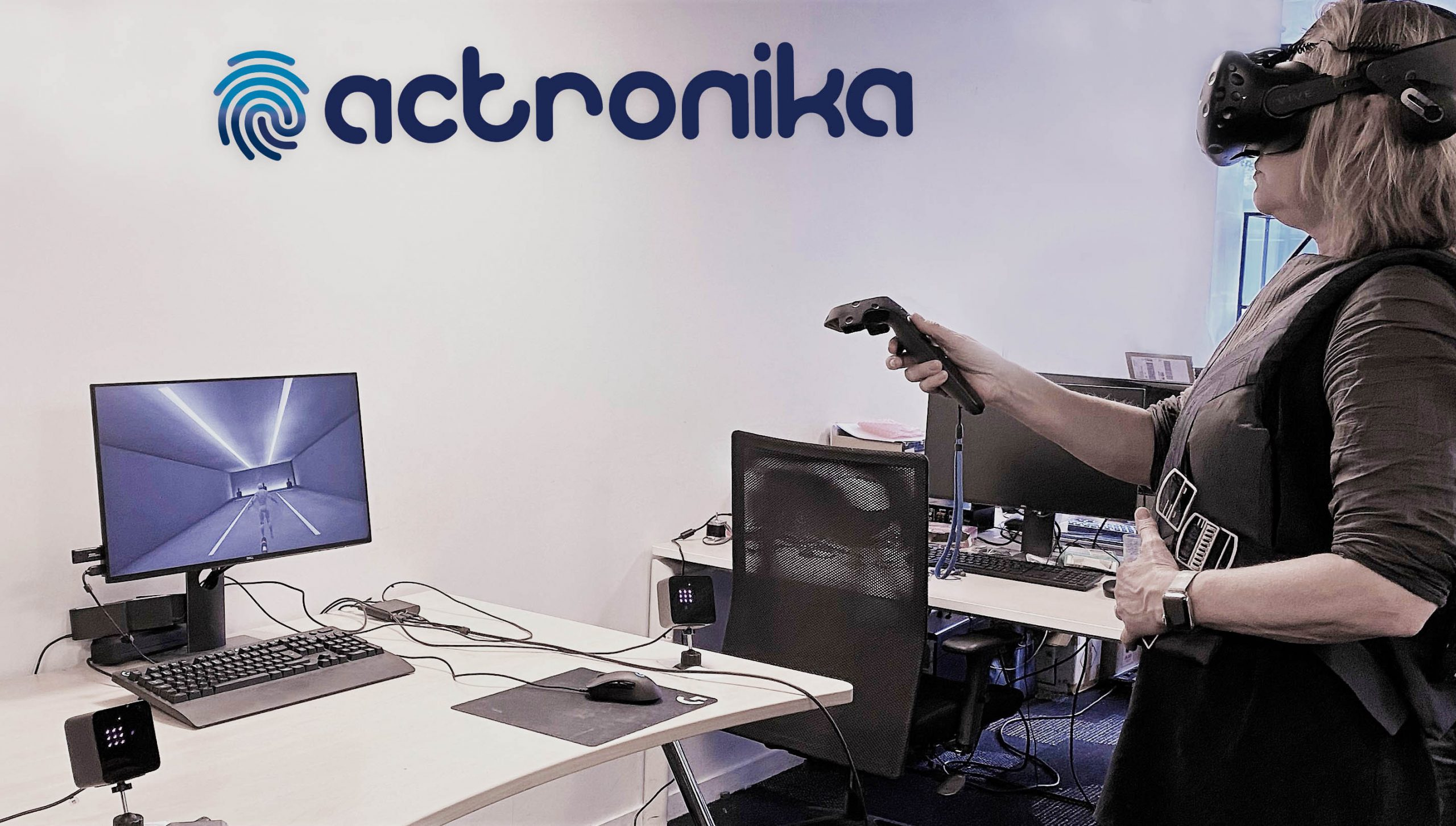Actronika Launches Its Own Haptic Jacket: Real-Life Sensations, for Unique Virtual Experiences | Business Wire