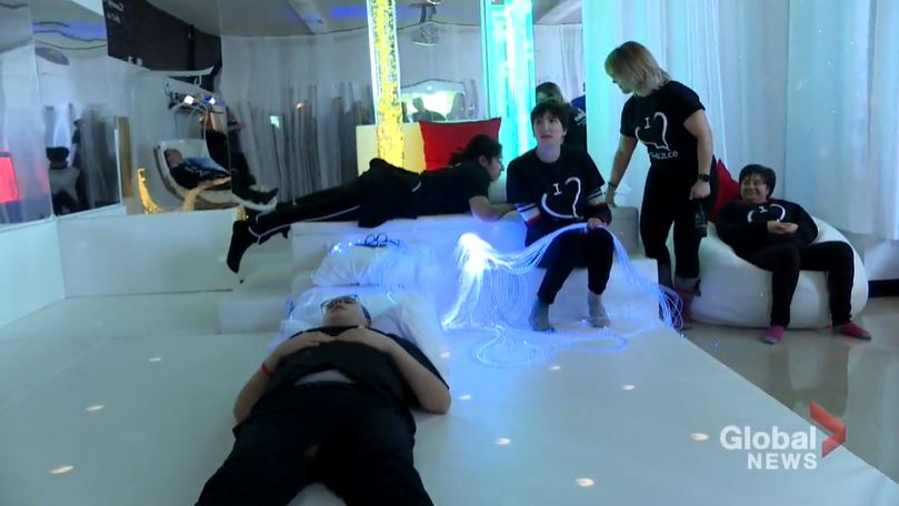 New multi-sensory space at Montreal North school aims to help students relieve stress – Montreal | Globalnews.ca