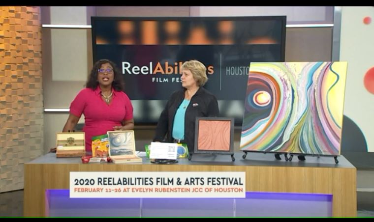 Multi-Sensory Touch to See Art Exhibit gives visually impaired community chance to enjoy art   CW39 Houston