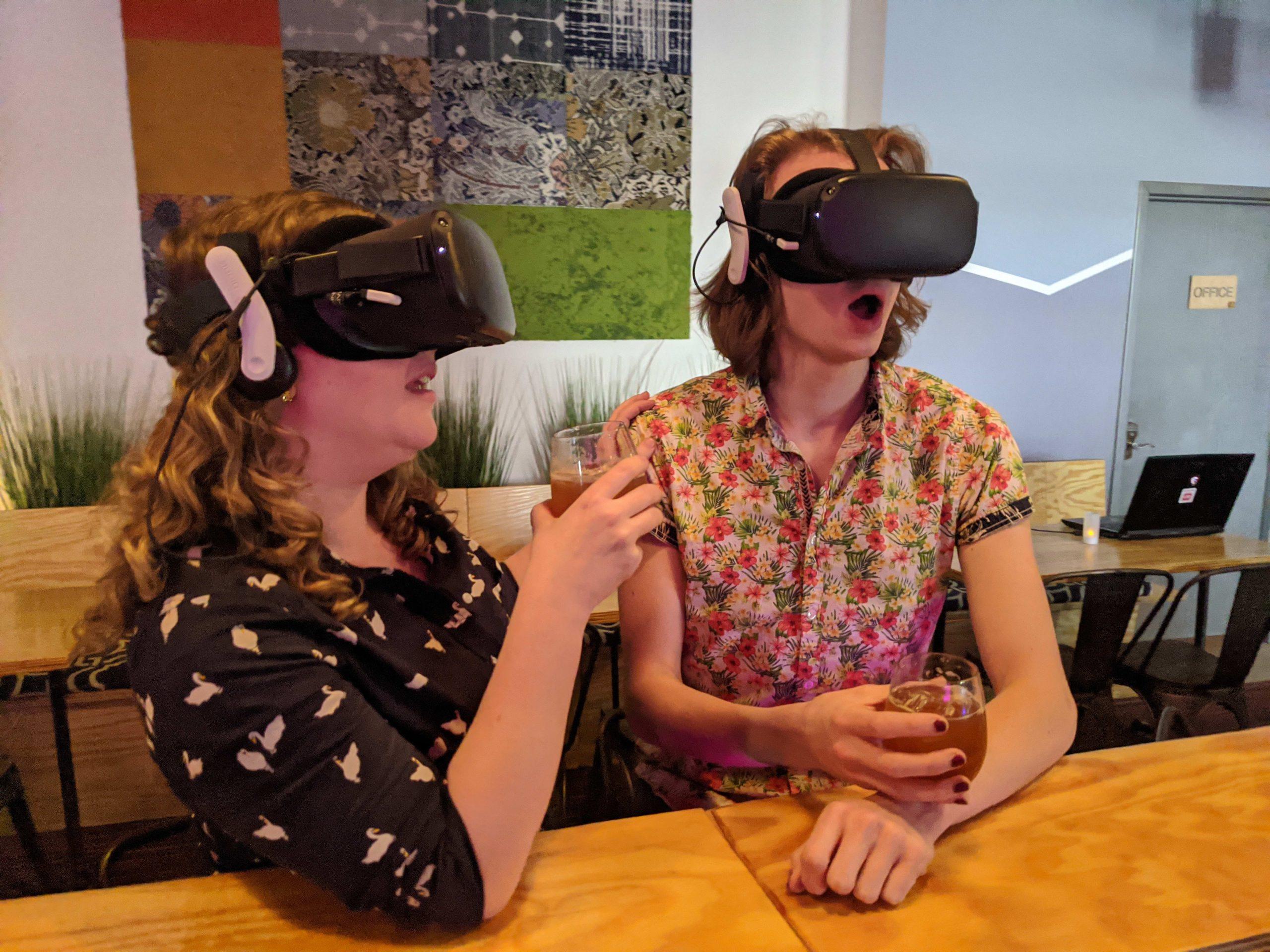 H/O Redline VR bar virtual reality cocktail