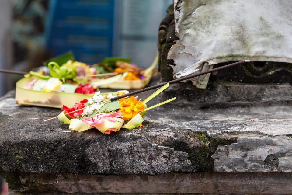 Balinese Temple Offering