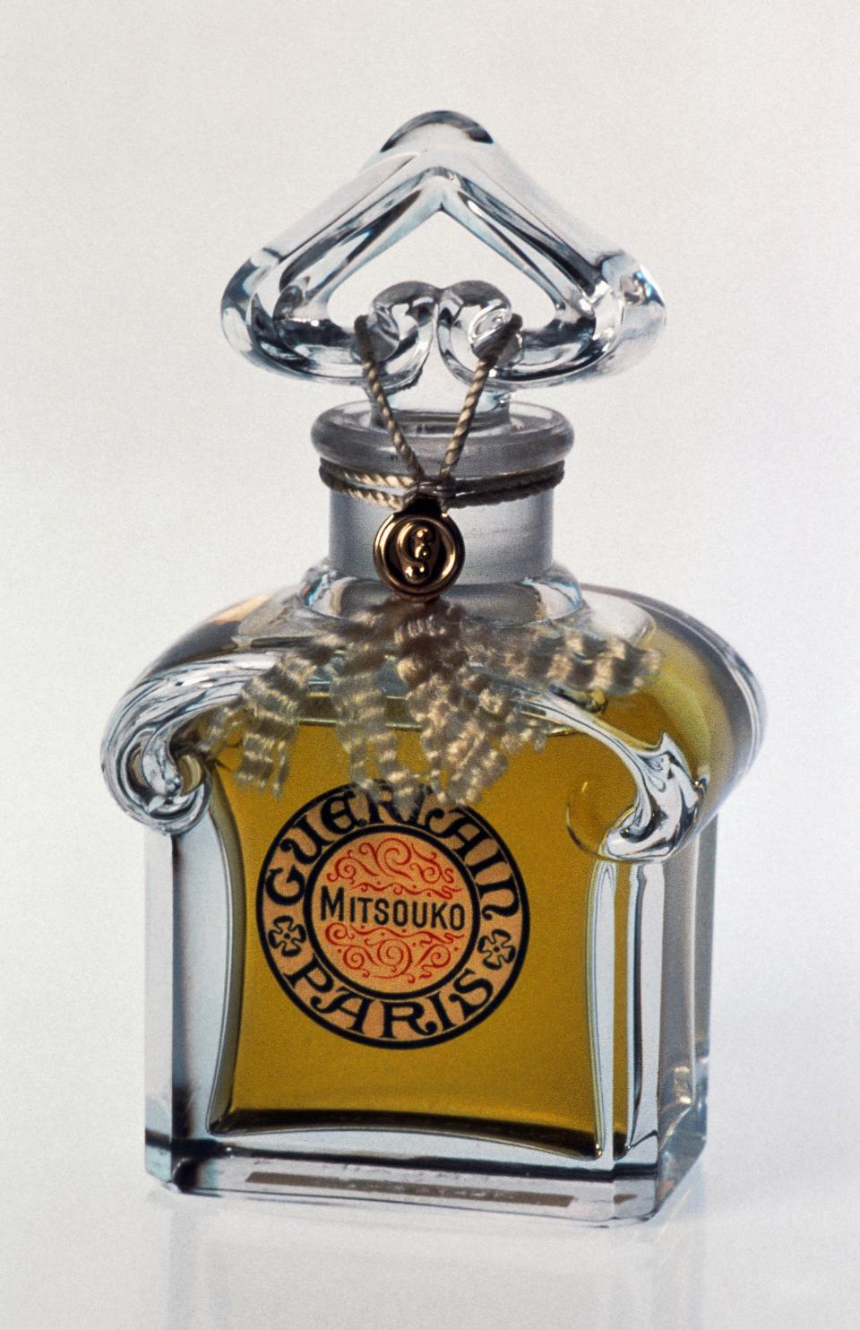 Mitsouko perfume bottle...