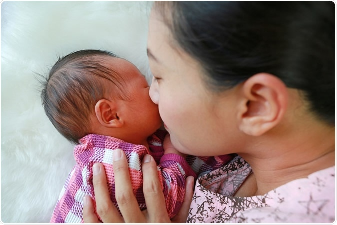 Child's scent tells mom how development is proceeding | News-Medical.Net