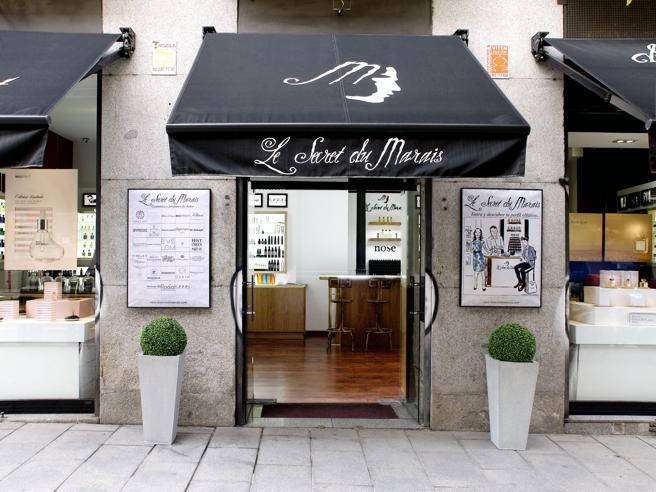 Le Secret du Marais, a shop specializing in perfumes unique, located on calle Hortaleza (Madrid)