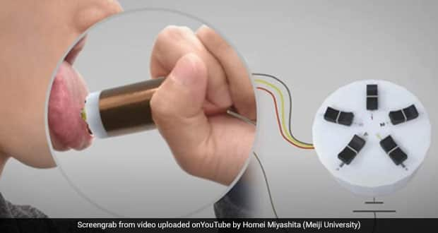 Watch: Is Virtual Eating Possible? This Unique Device Lets You Taste Any Food Without Even Eating It! | NDTV Food