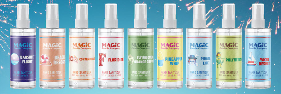 Theme park-inspired hand sanitizers bring memories while fighting germs | Attractions Magazine