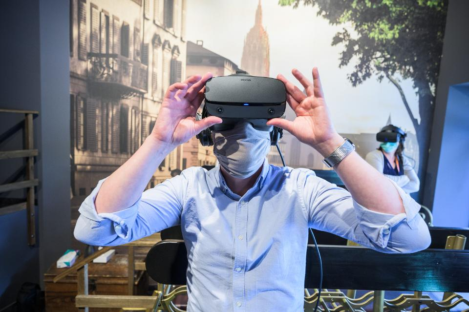Meet The Companies Using VR To Treat Coronavirus-Related Stress And Anxiety | Forbes