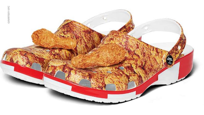 KFC chicken Crocs follow the trend of fast-food scented items | USA Today