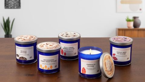 DQ Fall Blizzard Treat Candle Collection and new Fall Blizzard Menu | Fansided