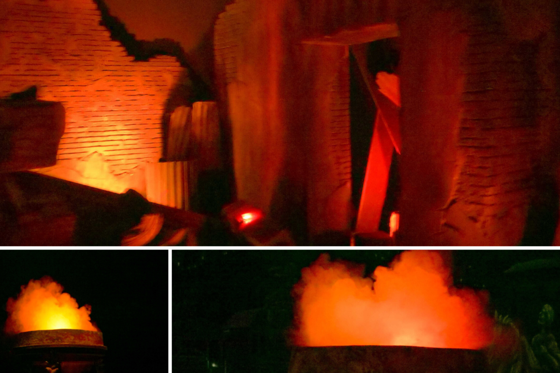 """Scent Effects Return to Spaceship Earth's """"Burning Rome"""" Scene at EPCOT 
