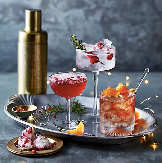M&S even provide cocktail recipes on their website for gin lovers