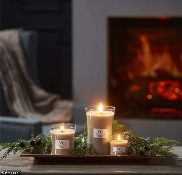 Woodwick crackling candles | Daily Mail Online