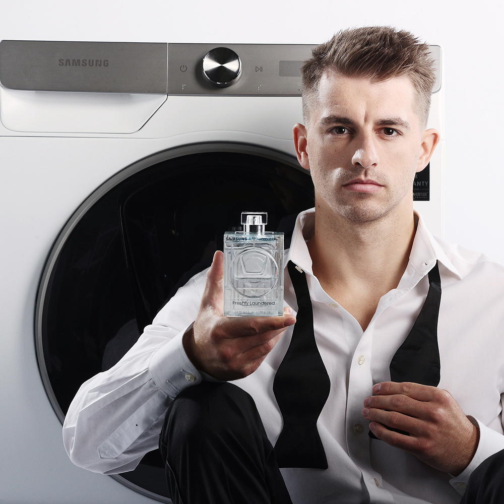 Samsung ecobubble washing machine has it's own bespoke fragrance | Idealhome