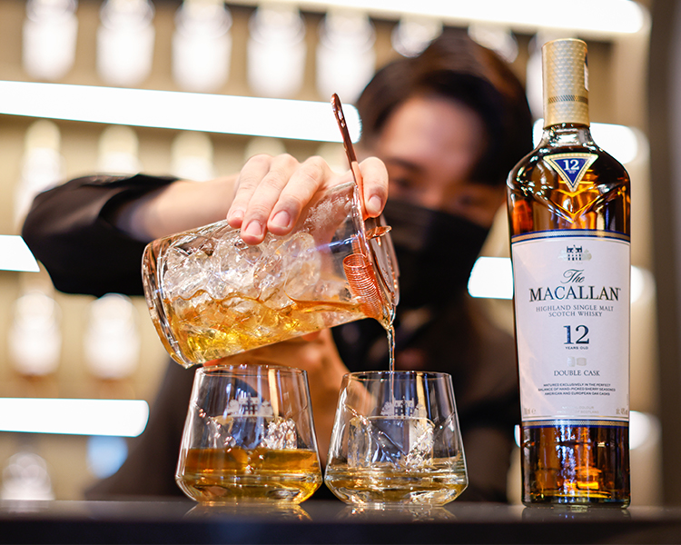 The Macallan Experience bars