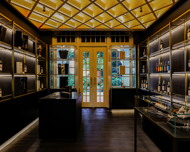 The Macallan Experience retail