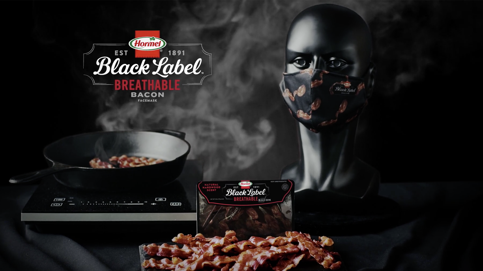 Bacon-scented face masks? | USA Today