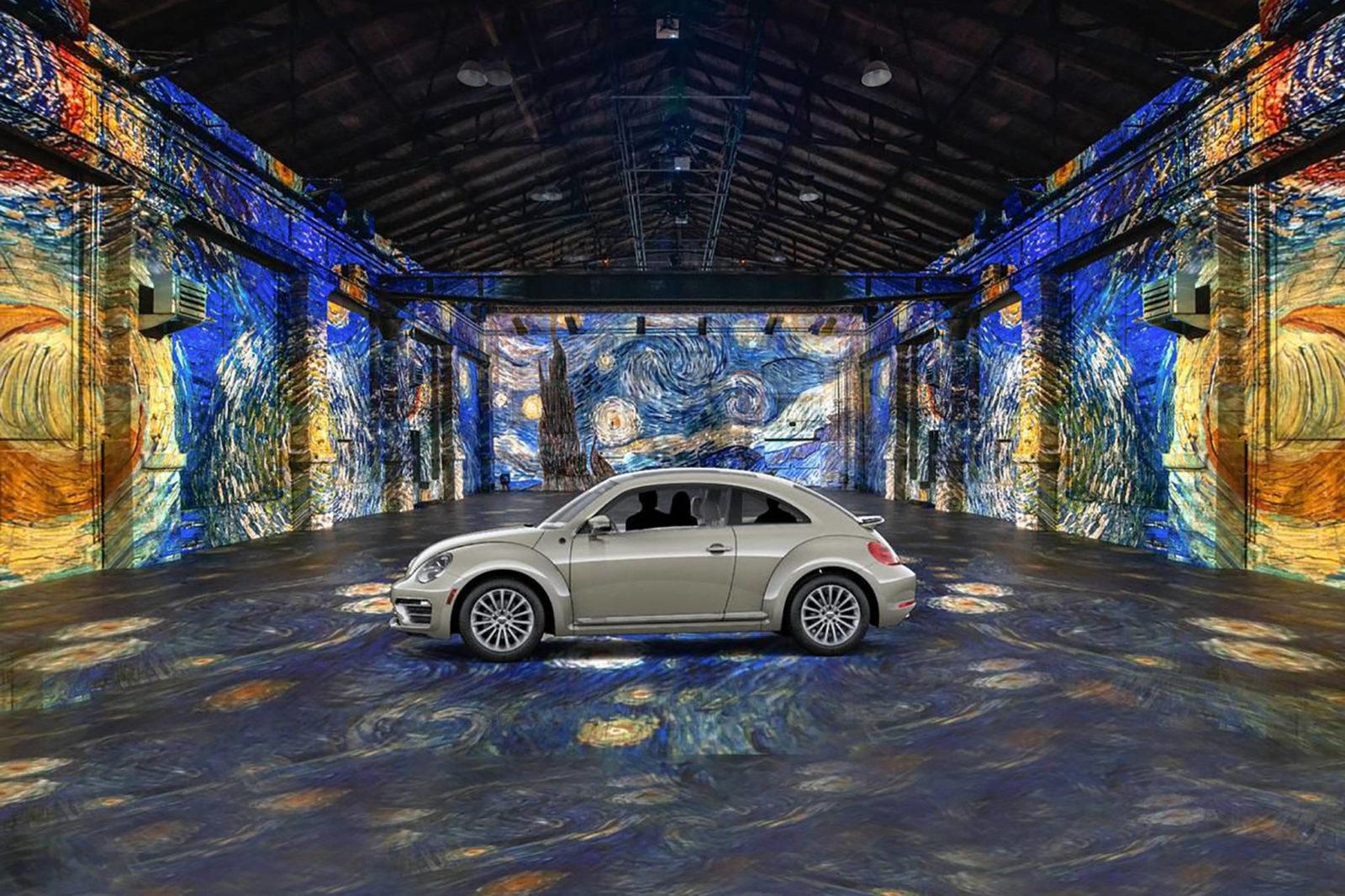 van gogh by car immersive experiences