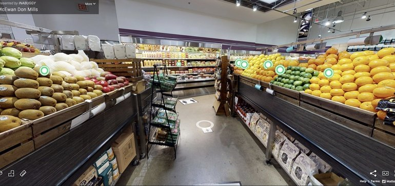 Canadian grocer lets shoppers browse and click virtual aisles | Grocery Dive