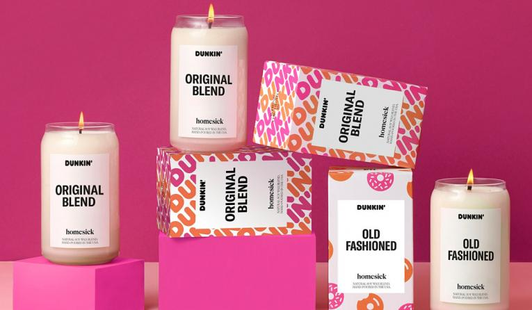 Dunkin'-Scented Candles Return for the Holidays | QSR magazine