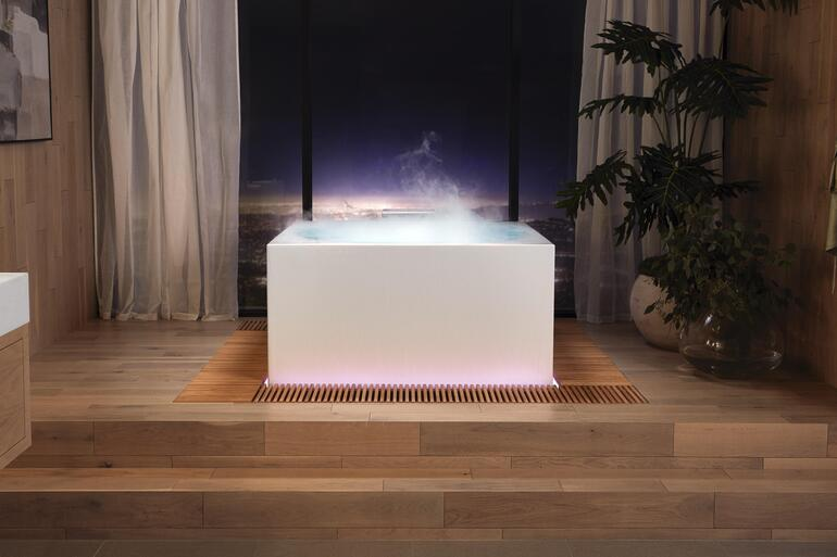 CES 2021: New Kohler bathtub brings forest bathing to your bathroom with scent, fog, and mood lighting | TechRepublic
