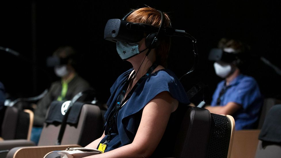 Virtual reality has made entertainment even more immersive by replicating the sight, sound and feel of real worlds (Credit: Josep Lago/Getty Images)