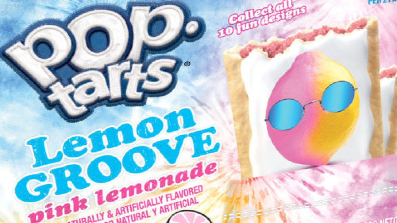 Pop-Tarts' Newest Flavor Is Pink Lemonade with different designs | WXYZ