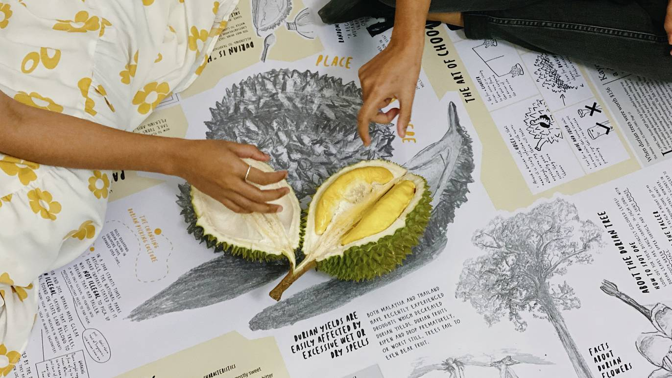 Artist spotlight: An interactive picnic that reconnects people with local durian culture | Timeout Singapore