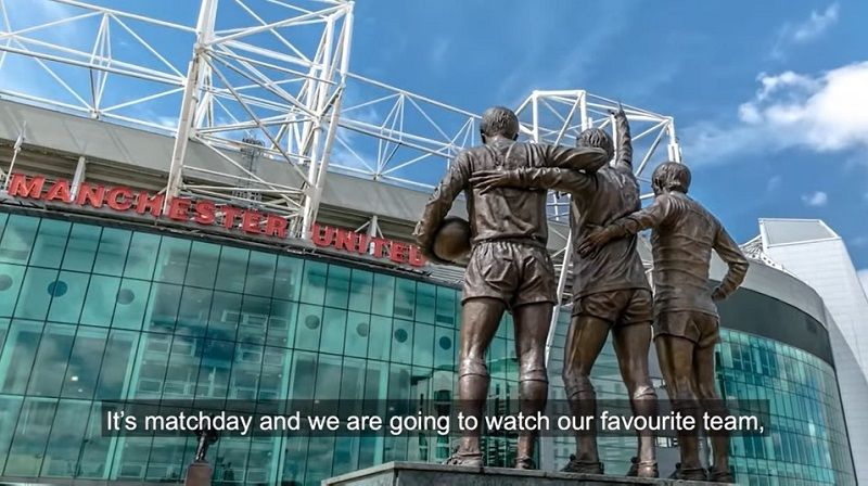 How you can enjoy a Manchester United matchday sensory experience… from home | InYourArea Community