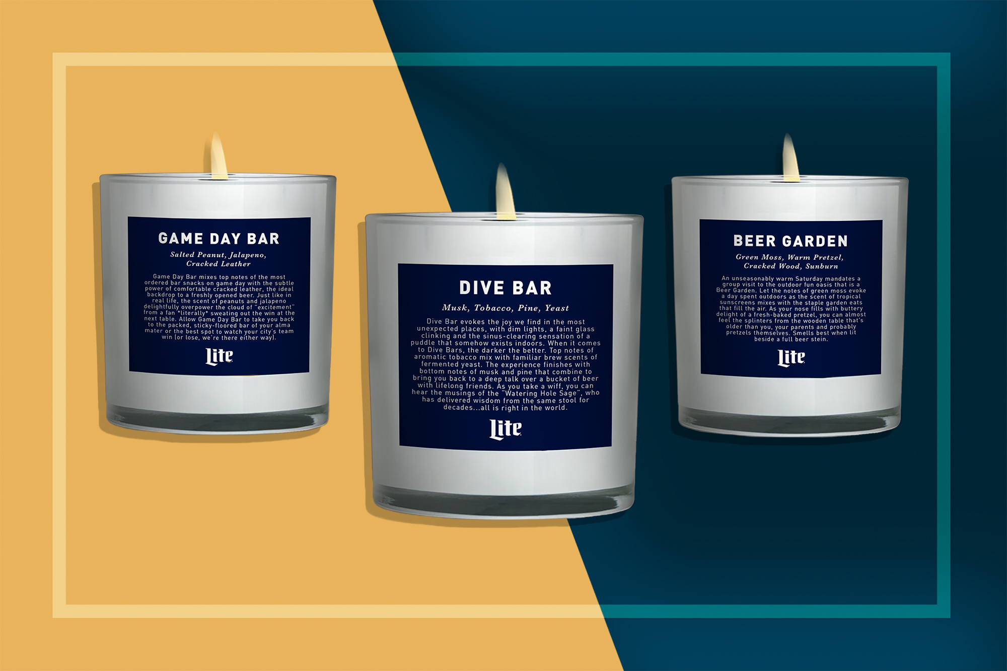 Miller Lite Made a Scented Candle That Smells Like a Dive Bar | Food & Wine