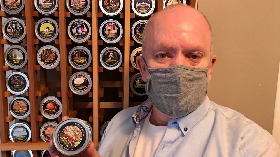 Veteran captures 'scents' of London and military life in candles | CTV News