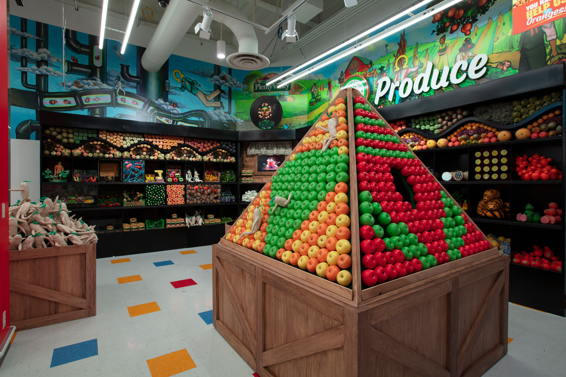 This Psychedelic Grocery Store Is an Immersive Art Experience in Las Vegas | Travel & Leisure