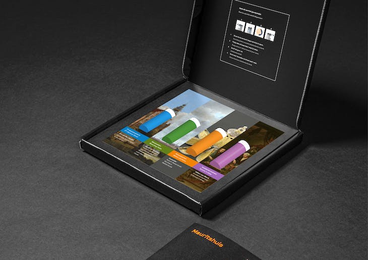 The Mauritshuis's fragrance box