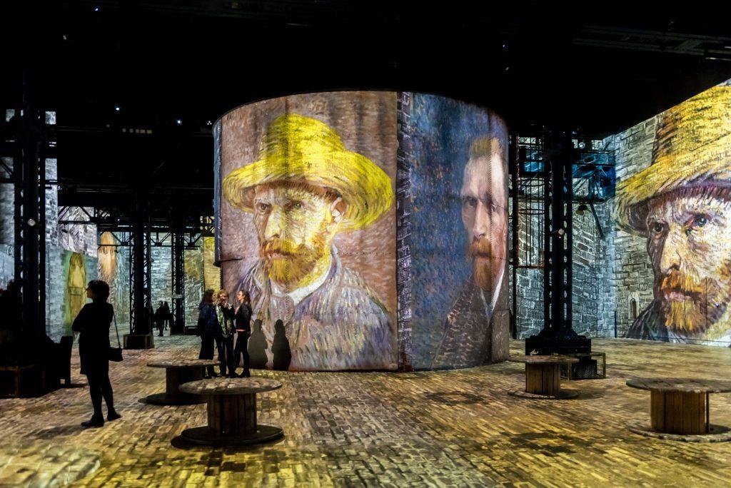 Atelier des Lumières Van Gogh exhibition
