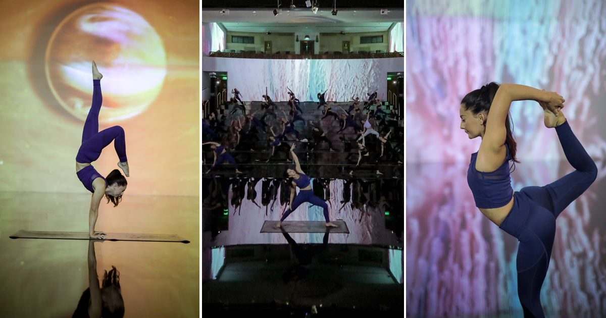 Yoga and art combine in Dubai's newest immersive fitness class   Whats ON AE