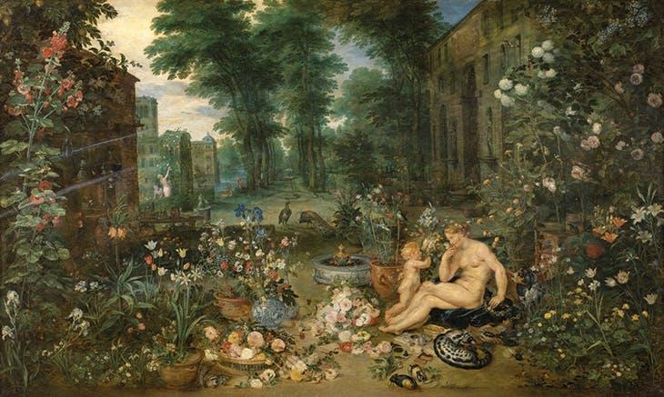 Allegory of the Sense of Smell (1617–18), Peter Paul Rubens and Jan Bruegel the Elder. Museo del Prado, Madrid