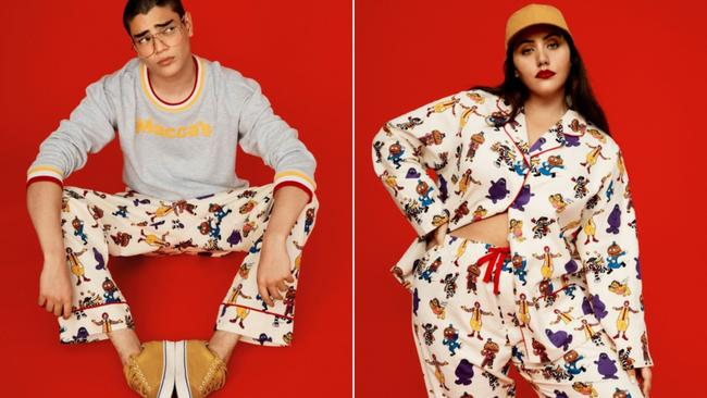 McDonald's Peter Alexander collaboration: New range features PJ pants, shorts and sweaters | 7NEWS