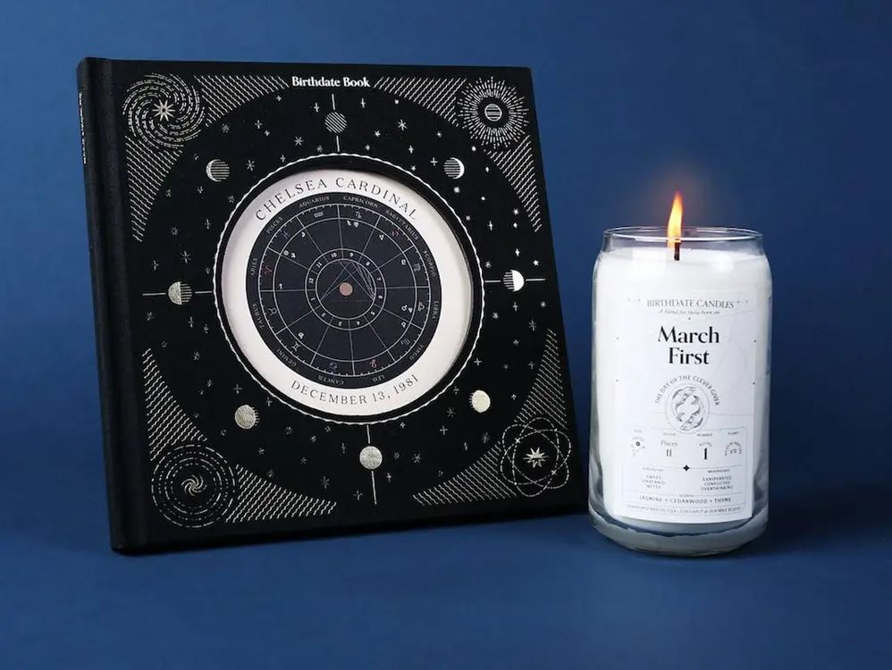 Birthdate Co. offers 366 uniquely scented candles based on your Zodiac sign | Business Insider