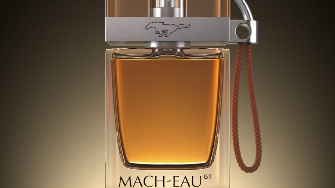 Ford Mach-Eau novelty fragrance offers gasoline scent for EV owners   Slashgear