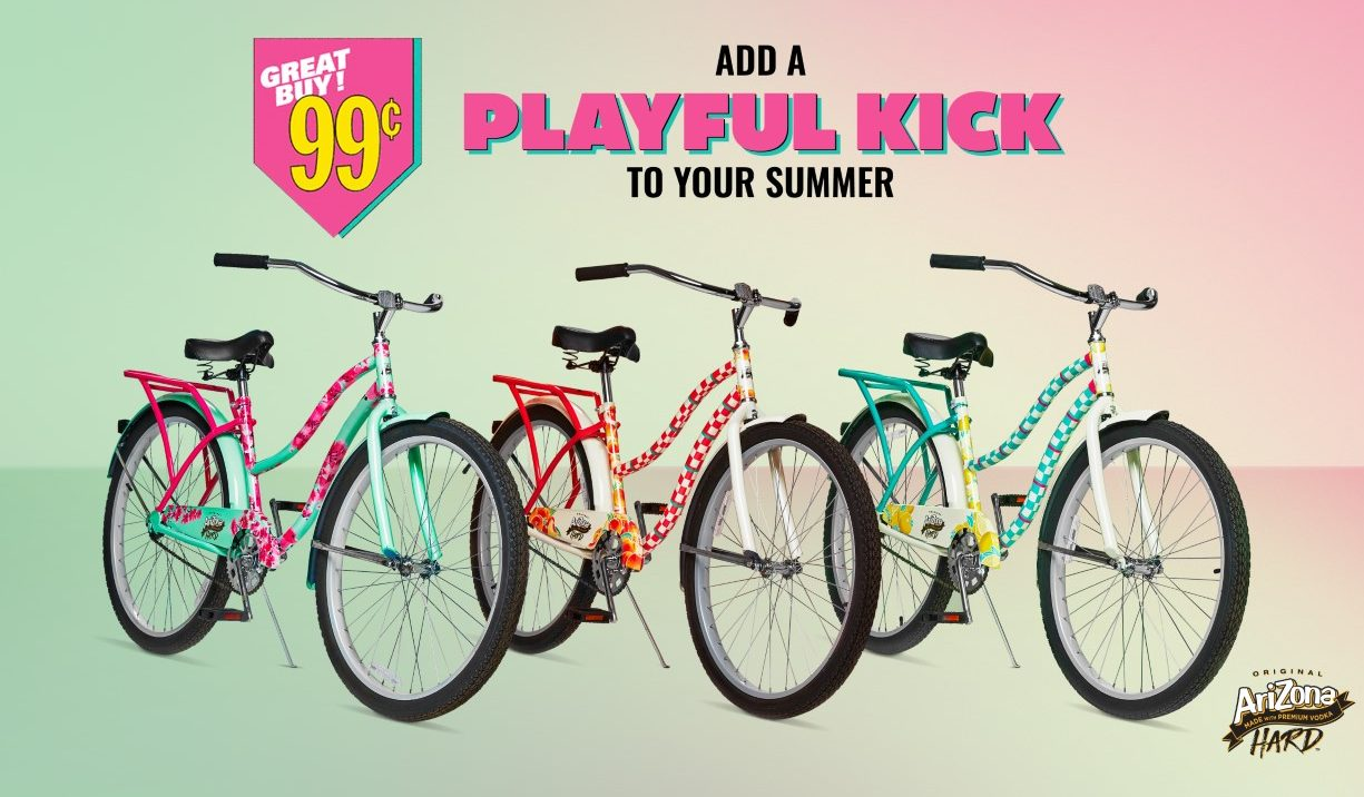 Iconic Iced Tea brand selling limited edition bikes for 99¢ to Canadians | NEWS 1130
