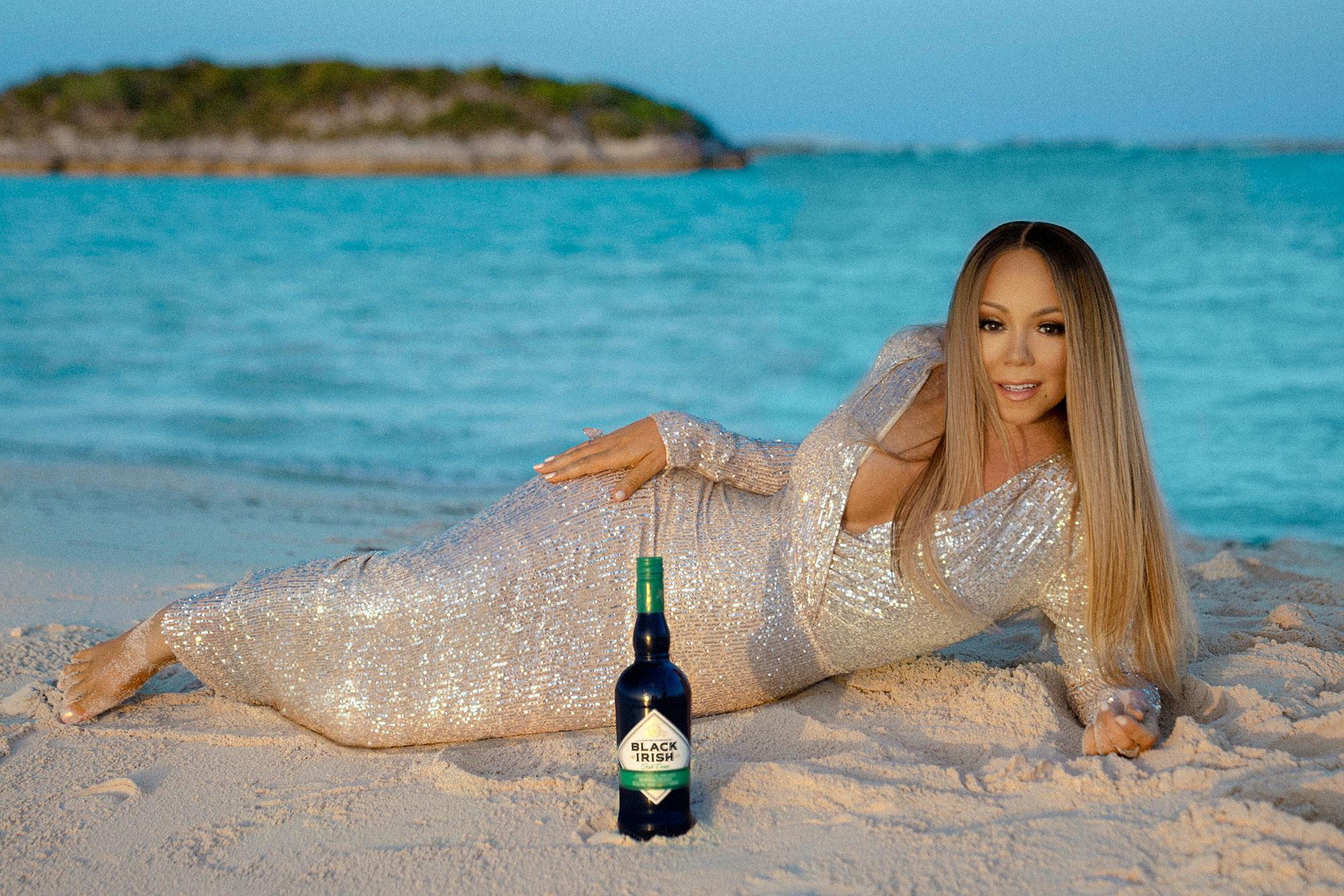 Mariah Carey Just Launched Her Own Irish Cream Brand, 'Black Irish'   Food and Wine