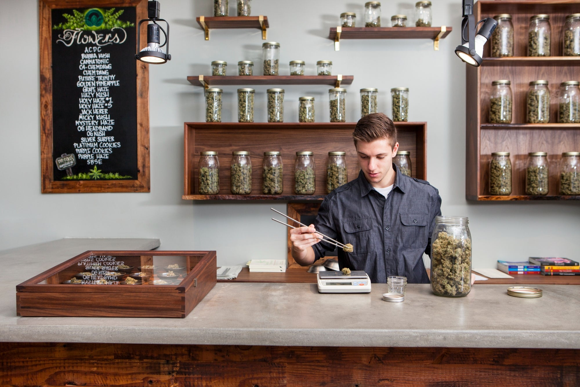 Shopping for Weed is Now a Multi-Sensory Experience | Green Entrepeneur