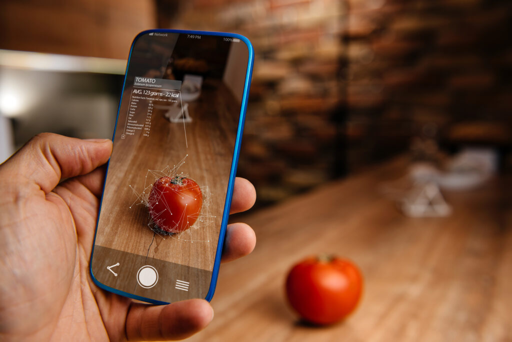 Engaging Buyers Using Augmented Reality   Thought for Food™